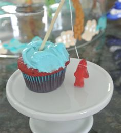 fisher boy cupcakes