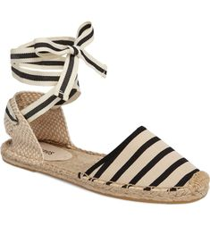 d9432d1b58f Main Image - Soludos Lace-Up Espadrille Sandal (Women) Lace Up Espadrilles