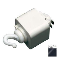 Cal Lighting Black Linear Pendant Adapter Ht-278-Bk