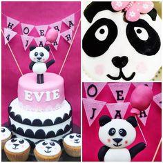 &SUUS: Panda Party | ensuus.blogspot.nl | Panda cake | Kids birthday party | Panda taart