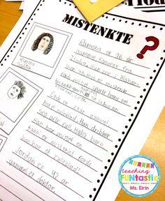 Uke 14 - PY 5: I planleggingen av mysteriet på elevene på forhånd tenke godt gjennom mistenkte, alibier, ledetråder og avledningsmanøvre!