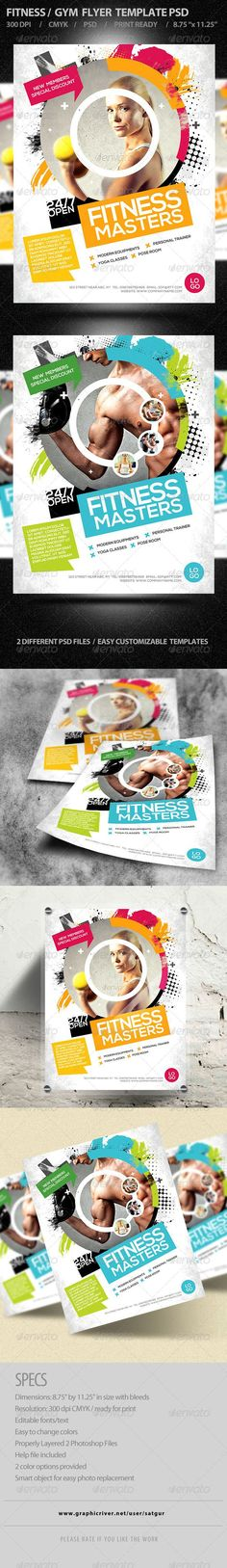 Fitness Flyer / Gym Flyer - Corporate Flyers