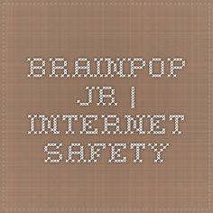 BrainPOP Jr. short movie and activities | Internet Safety