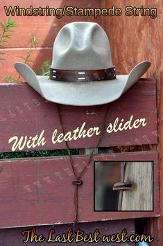 f83829a0b4b Windstring Stampede string Western Hats