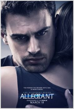 Allegiant - Poster (The Divergent Series) x Movie Poster (THICK) - Shailene Woodley, Kate Winslet, Theo James: Very Nice poster from the Allegiant series of Divergent. Looks great on the wall, or framed. Theo James, Theo Theo, Theodore James, Shailene Woodley, Tris Und Four, Tris Et Tobias, Die Bestimmung Allegiant, Divergent Insurgent Allegiant, Divergent Film