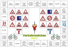 Ideenreise: Bingo für zwei (Verkehrszeichen)