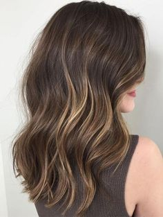 Hair Color Ideas for Partial Balayage Hairstyles Trends in Winter