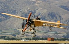Aviation Photo Bleriot XI (Thulin A) - Untitled Aeroplane Flying, Swedish Air Force, Photo Avion, Vintage Dance, Civil Aviation, Aircraft Pictures, Airplane, Fighter Jets, Transportation