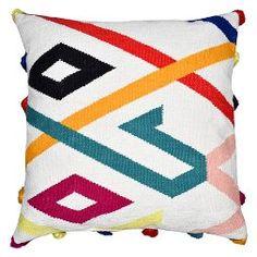 "Hand woven Tassel Throw Pillow (24"") - Threshold™"