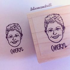 Custom Portrait Stamp @lilimandrill www.lilimandrill.fr @etsy #EtsyGifts #bachelorette #etsywedding #wedding #valentinesday #valentine #bride #diy #couple #stamp #personalizedgift #gift #weddinggift #DifferenceMakesUs #party #engagement #uniquegift