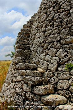 """Salentine countryside: ancient building , """"pagghiara""""  Puglia, Southern italy"""