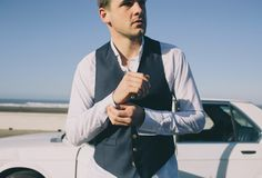 Our bud Nick, who is a uniformed Air Force Lieutenant, spends his week on the base in Sacramento, but regularly skips town on the weekends for San Fra. Dapper Man, Taylor Stitch, Surfing, Menswear, Mens Fashion, Club, Blazer, Suits, Jackets
