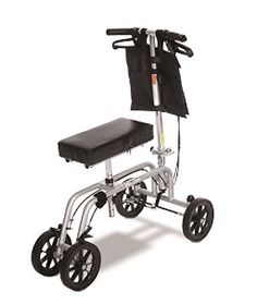 Essential Medical Supply Free Spirit Knee and Leg Walker with Patented Design, Unique Turning Mechanism, Extra Height Adjustability and Weight Capacity Scooters, Nurse Drawing, Knee Scooter, Health Care Hospital, Free Tire, Medical Pictures, Nursing Students, Nursing Schools, Icu Nursing