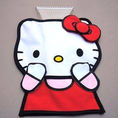 Hello kitty ice scraper :)