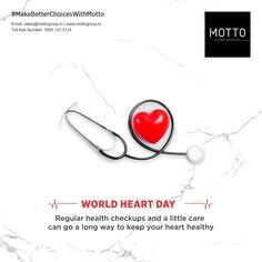Regular health checkups and a little care can go a long to keep your heart healthy World Heart Day..! #Motto #Tiles #mottogroup #Ceramic #FloorTiles #slabtiles #CeramicTiles #CeramicTile #SlabTile #Slab #Tile #Marbles #MarblePlus #SlimTiles #Application #worldheartday2020 #WorlHeartDay #HeartDay #healthyheart #Heart #health World Heart Day, International Days, Heart Health, Marbles, Motto, Tiles, Healthy, Room Tiles, Tile