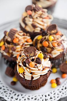 chocolate cupcakes peanut butter chocolate cupcakes make the perfect ...