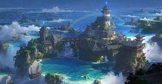 Chinese style - wonderland  by fengua-zhong