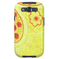 Shop Colorful Vintage Abstract Flower Photo Design Case-Mate Samsung Galaxy Case created by DecidedlyDifferent. Galaxy S3 Cases, Samsung Galaxy, Vintage Colors, Retro Vintage, Digital Art Photography, Retro Fabric, Design Case, Abstract Flowers, Shopping Sites