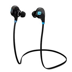 Mpow Swift Bluetooth 4.0 Wireless Sport Headphones Sweatproof Running Gym Exercise Bluetooth Stereo Earbuds Earphones Car Hands-free Calling Headsets with Microphone and High-fidelity Stereo Sound via apt-X for iPhone 6 6 plus 5S 4S Galaxy S6 S5 and iOS android Smartphones (Cool Black) - http://onlinebusiness-rc.com/autoparts/mpow-swift-bluetooth-4-0-wireless-sport-headphones-sweatproof-running-gym-exercise-bluetooth-stereo-earbuds-earphones-car-hands-free-calling-headsets-wi