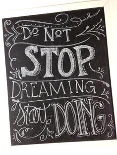 Tied Ribbon: Chalkboard Writing Tips & Tricks