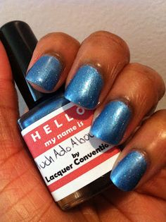 Lacquer Convention - Much Ado About Blue