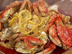 amazing! Lick you fingers good. Garlic and Chile Roasted Dungeness Crabs from FoodNetwork.com