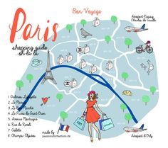 Paris shopping guide Paris Map, International Shopping, Paris Shopping, Concorde, Travel Guides, Travel Tips, The Body Shop, Hugo Boss, Passion For Fashion