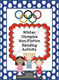 Winter Olympics Non-Fiction Reading Activity from ModernSchoolTeacher on TeachersNotebook.com -  (5 pages)  - A reading comprehension compare and contrast activity for two non-fiction stories.  Created to meet Common Core standards for second grade.  Fun word search included too!