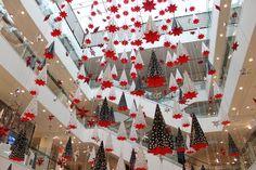 Christmas at  Peter Jones in Chelsea
