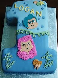Image result for bubble guppies cupcake cake