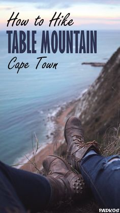 How to hike Table Mountain, Cape Town. Skeleton gorge is for me one of the most beautiful hikes in the world. The contrasts and the journey you go on is incredible. Starting in a tropical rainforest, moving onto barren karoo and even stumbling upon a beac Hiking Routes, Hiking Tips, Table Mountain Cape Town, Africa Destinations, Travel Destinations, Hiking Essentials, Cape Town South Africa, Best Hikes, Africa Travel