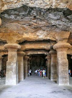 Elephanta caves , Mumbai.                                                       …