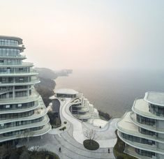 MAD's Huangshan Mountain Village mimics a Chinese mountain range