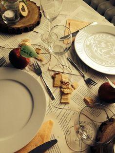 #table#visual#peach#rustic#loveit
