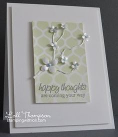 Hi everyone. Today's card is in honor of my good friend, Peggy. She…
