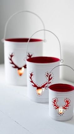 Holiday Lanterns idea....(and source for holiday retail--HOUZZ)