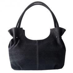 Handtasche aus Korkleder in edlem Anthrazit. Bag Patterns, Bags, Fashion, Accessories, Handbags, Moda, Fashion Styles, Taschen, Fasion