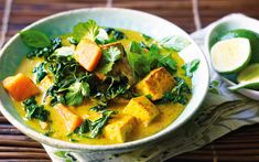 A deliciously warming Vietnamese curry for winter, starring sweet potato, tofu   and greens