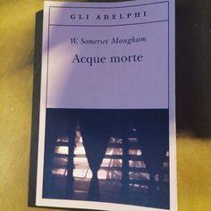 #libri acque morte #maugham finalmente un po' di #respiro.