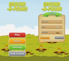 Ground n Pound App by Clarence Butcher. Stress Relief Apps.