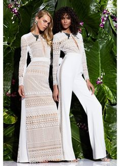 Exotic And Tropical Motifs Emphasize Zuhair Murad Resort 2017 Collection