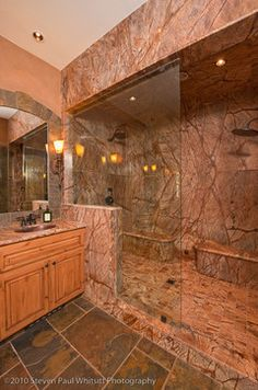 Yosemite Beauty rustic bathroom