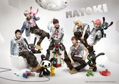 B.A.P releases a group shot with their Matokis
