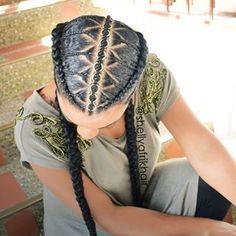 Must-try Braided Hairstyles – Lavish Braids Side Swept Hairstyles, Braided Ponytail Hairstyles, Afro Hairstyles, Curly Hair Styles, Natural Hair Styles, Mermaid Braid, Mens Braids, Hair Shows, Trending Hairstyles