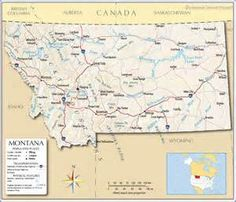 Northwest Montana Map Go Northwest A Travel Guide Montana - Map of montana cities