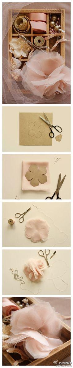 Fabric flower                                                                                                                                                     Más