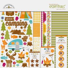 Strike up the fire and setup the s'mores – we're gettin' ready for a campout with our newest collection, Happy Camper! An outdoor a...