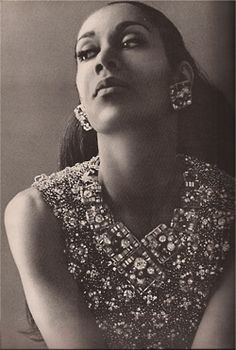".Carmen de Lavallade, dance legend and Vintage Black Glamour favorite (that's her in the VBG avatar) turns 82 years old today! Ms. de Lavallade is still going strong today: she is still dancing and recently appeared on Broadway in ""A Streetcar Named Desire."" This photo appeared in the October 1964 issue of Harper's Bazaar and Ms. de Lavallade is wearing a beaded necklace by Coppola e Toppa."