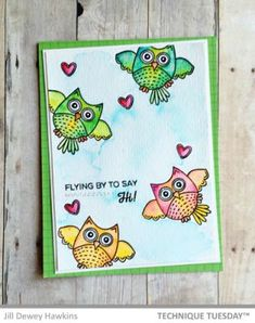 Chickadees 2.0 Funny Bird Clear Stamps Card Making Supplies Photopolymer Stamps Clear Rubber Stamps