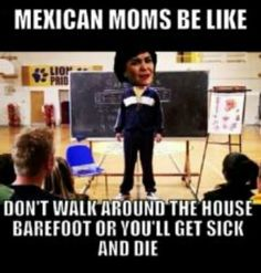 Totally my mom...love the Mean Girls reference!